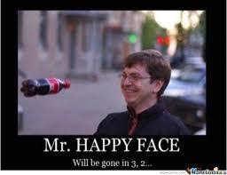 Happy Meme Face - mr happy face by adam memes meme center