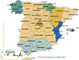map of spain map of spain map for planning your in spain spain region