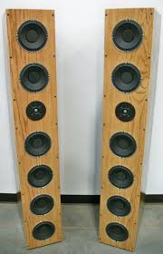Bass Speaker Cabinet Design Plans Ear Drum Amazing Mavin 6 Pack 6 Woofer Tall Tower Design Kit