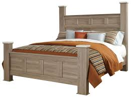 casual king poster bed by standard furniture wolf and gardiner
