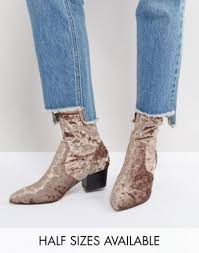 womens boots asos s boots asos regional point sock boots 1062385