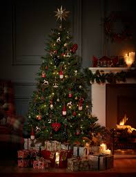 6ft standard pre lit christmas tree m u0026s