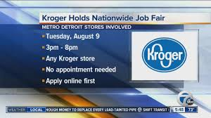 workers wanted kroger holds nationwide job fair youtube