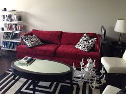 how to decorate around a red sofa 24 red couch living room design