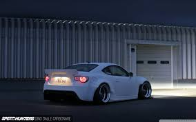 stanced subaru iphone wallpaper stanced white rocket bunny scion frs by speed hunters u0026 dino dalle