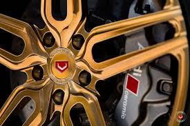 Audi R8 Gold - 2017 audi r8 v10 on vossen forged hc 1 wheels 31708786671 o