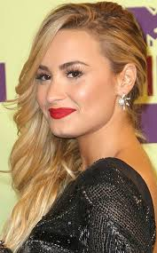 front view of side swept hairstyles demi lovato hairstyles side swept curls pretty designs