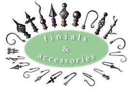 Wrought Iron Curtain Rings Wrought Iron And Steel Curtain Poles Bay Window Poles Finials