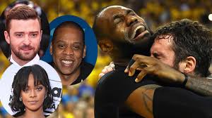 Lebron James Crying Meme - celebs react to lebron james crying after cleveland cavs win the nba
