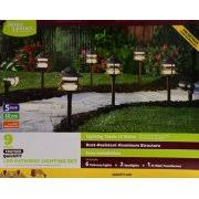 better homes and gardens 8 piece frayser quickfit led pathway