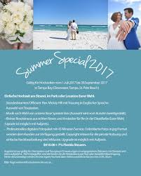 sprã che zum 5 hochzeitstag heiraten in florida hochzeit in florida romantisch am strand