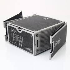 cardboard smartphone projector diy smartphone projector assembled