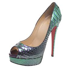 best lady peep shoes by christian louboutin