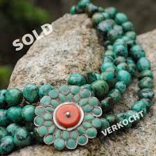 tibetan necklace images Antique tibetan necklace artwear jordaan jpg