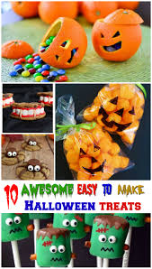 Easy To Make Halloween Snacks by 10 Awesomely Easy To Make Halloween Treats For Kids