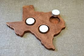 29 00 usd wood candle holder shape state texas patriotic home decor