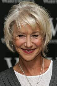 wispy haircuts for older women layered blonde bob haircut with wispy bangs hairstyle aging