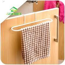 over cabinet door towel bar over cabinet door towel bars marvelous kitchen holder double bar