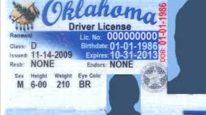 best photos of oklahoma id template oklahoma drivers license