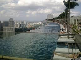 top 10 rooftop pools huffpost