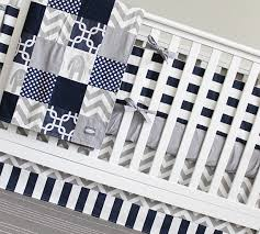 Navy Blue And Gray Bedding Modern Blue Baby Boy Crib Bedding Navy Blue Gray Elephant