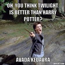 Funny Twilight Memes - harry potter vs twilight memes harry potter amino