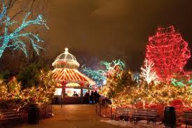 lights festival chicago time lincoln park zoo s annual zoolights festival zoo lights and park