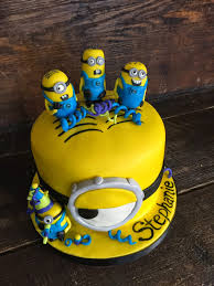 edible minions sweet t s cake design minions birthday cake