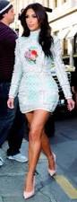 dress kim kardashian rococo baroque running shoes runway
