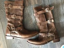 womens brown leather boots size 9 fiorentini baker s brown leather boots size 9 39 ebay