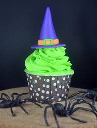 Fondant Halloween Cakes by How To Make Witch U0027s Hat Cupcakes Bake Happy