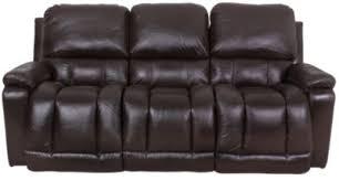 La Z Boy Recliners Sofas by La Z Boy Greyson Brown 100 Leather Reclining Sofa Homemakers