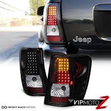 2004 jeep grand cherokee tail light assembly 99 04 jeep grand cherokee black led tail ls turn signal brake