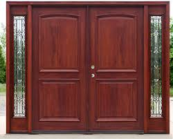glass panels for front doors exterior double doors with sidelights solid mahogany doors
