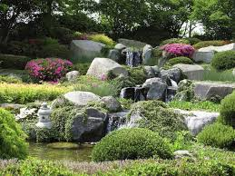 collection in large rock landscaping ideas garden design garden