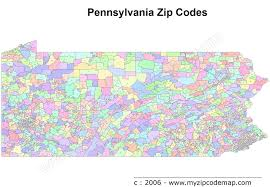 Zip Code By Map Pennsylvania Zip Code Maps Free Pennsylvania Zip Code Maps