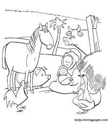 christmas coloring pages nativity scene coloring pages ideas