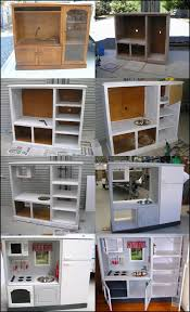 tv cabinet kids kitchen wonderful diy play kitchen from tv cabinets