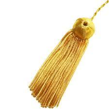 gold tassel graduation academic bullion tassel gradshop