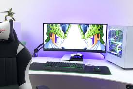 good gaming desk desk office setup amazing gaming desk setup dope 3x screen setup