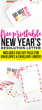new years envelopes printable new year s resolution letter and envelopes printable crush