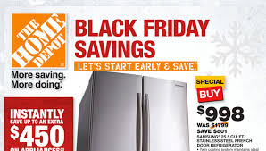 home depot black friday doorbuster ad 2017 depot black friday pre sale launched