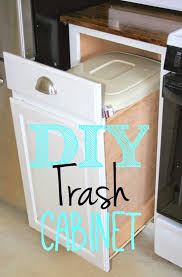 under cabinet pull out drawers kitchen cabinet trash drawer pull out built in cans slide under sink