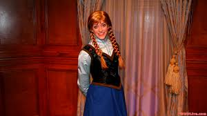 anna meet anna frozen person magic kingdom u0027s