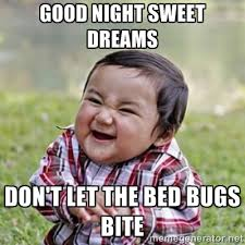 Bed Bug Meme - top 5 places to check for bed bugs pointe pest control