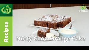 nutty choc orange cake affordable food ideas food for every