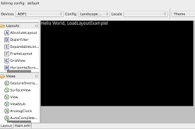 layoutinflater applicationcontext android sdk loading layout and associating to a class permadi com