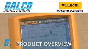 fluke 287 series digital multimeter youtube