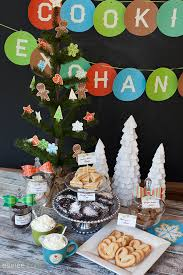 christmas cookie exchange printable party kit the elli blog