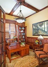 Wainscoting Office Wainscoting Office Home Office Traditional With Wood Frame Chair
